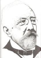 Retrato a plumilla de Don Juan León y Castillo por Juan Torres